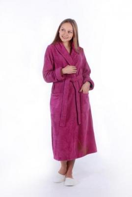 Халаты махровые, велюровые