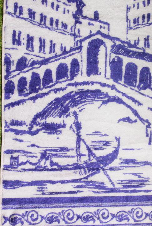 "Полотенце махровое ""Ponte di Rialto"""