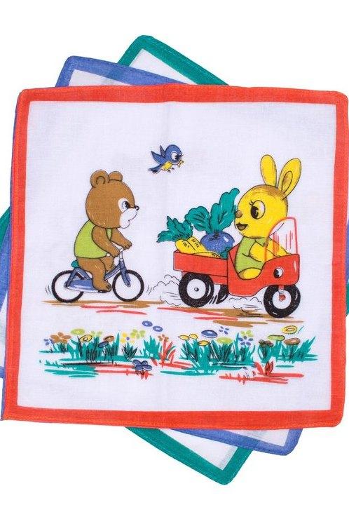 """Детские носовые платки """"Etteggy K"""" 6 штук"""