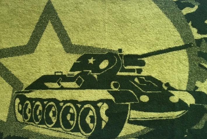 Полотенце махровое «Defenders»